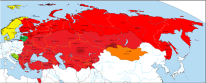 Location of the Union of Soviet Socialist Republics of the Soviet Union (Alternative Soviet Union and Warsaw Pact
