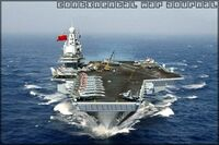 Soviet aircraft carrier Moskva (Comrade Stanislav class aircraft carrier)