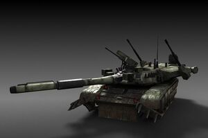 T-100 Ogre Main Tank