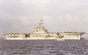 Clemenceau class aircraft carrier