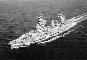 Gangut class battleship