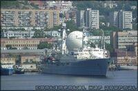Soviet command ship Marshall Krylov