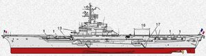 Clemenceau class aircraft carrier2