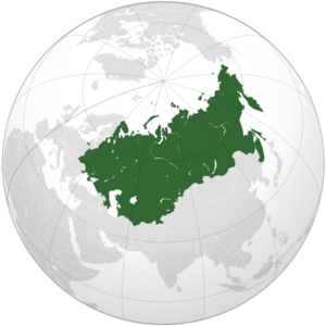 Location of the Union of Soviet Sovereign Republics of the Soviet Union (New Union)
