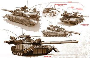 T-100 Ogre Artwork
