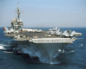 Kitty Hawk class aircraft carrier