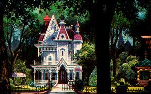 Walt-Disney-Wallpapers-Lady-house