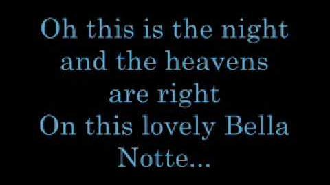 Bella Notte - Lyrics