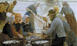 Women-and-Fishermen-of-Hornbaek-by-kroyer