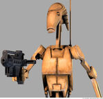 B1 Battle Droid ready for action