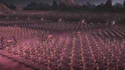 New Separatist Droid Army advances to Stormies