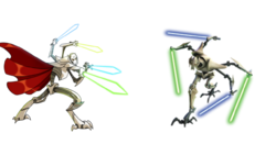 Grievous Hero vs Grievous Villain