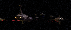 Space Battle over Coruscant