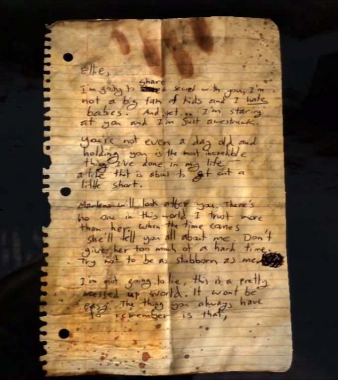 Note from Mom | The Last of Us Wiki | FANDOM powered by Wikia