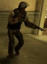 Un Bandido con armadura