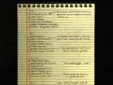 Lista de Tess
