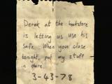 Nota para Derek