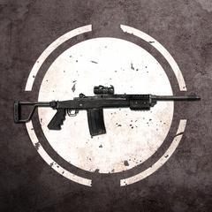 Самозарядная винтовка с оптическим прицелом