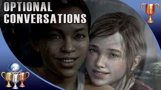 The Last of US - Left Behind - All Optional Conversations (BFF's Trophy)