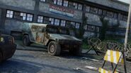 Abandoned Humvee