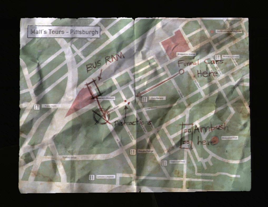 Ambush Map   The Last of Us Wiki   FANDOM powered by Wikia