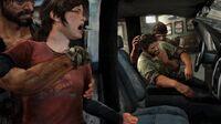 Joel and Ellie getting Kidnapped