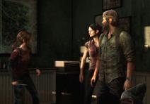 Joel y Tess conocen por primera vez a Ellie