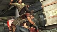 Joel saves ellie