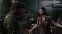 Tess convence a Joel de llevar a Ellie con la Luciernagas