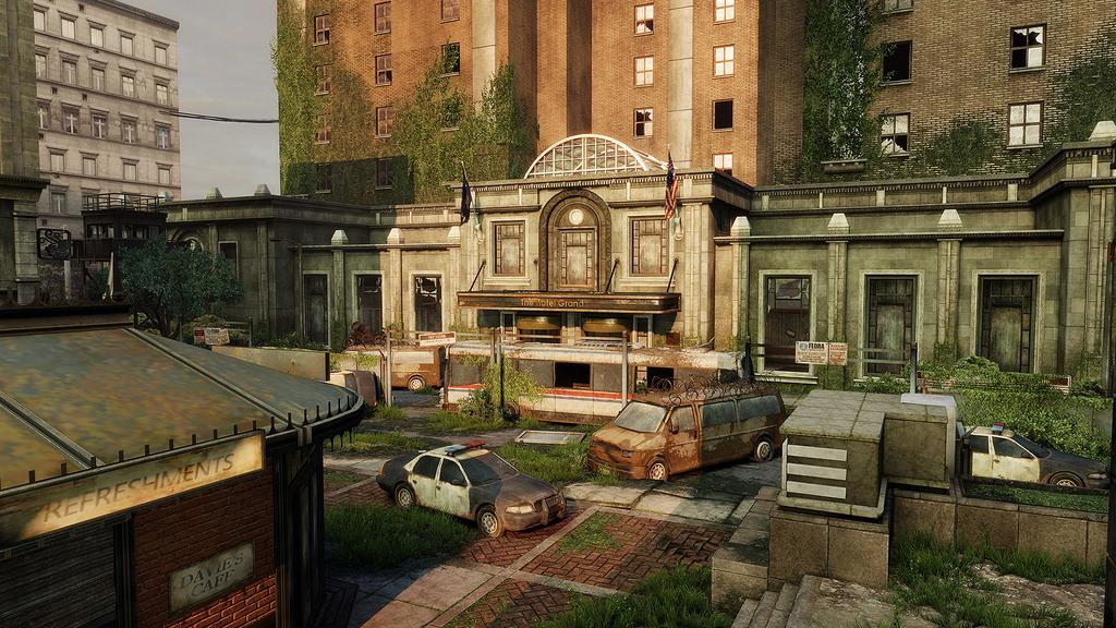 Financial Plaza The Last Of Us Wiki Fandom Powered By Wikia - Last-of-us-dlc-maps