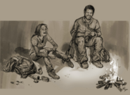 Conception du duo Joel et Ellie