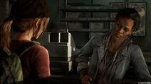 Marlene le dice a Ellie que necesita ir con Joel, y que ella estará bien