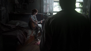 TLOU2 - Joel looking on