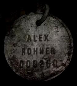 Medalion - Alex Rohner