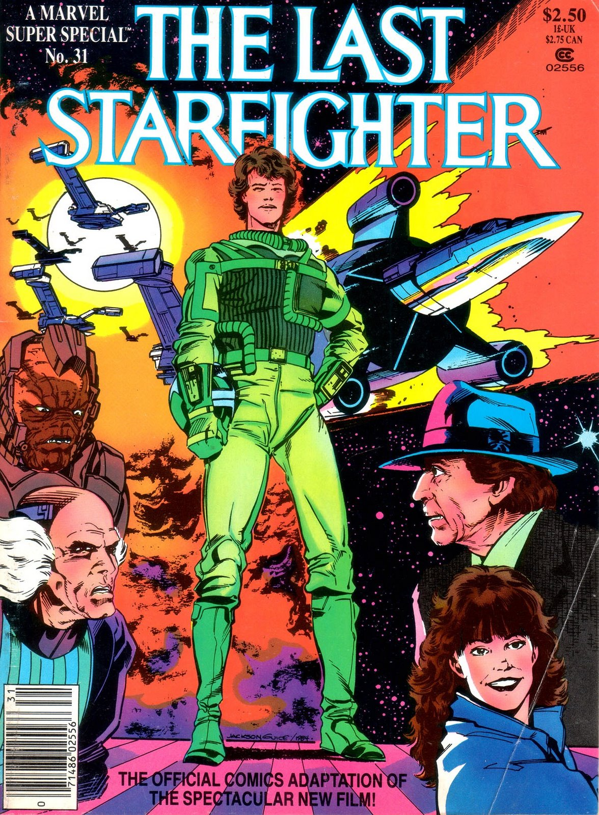 Image result for last star fighter movie adaptation comic