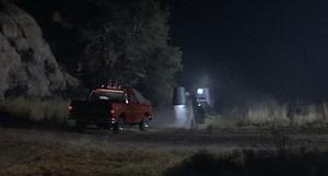 Beta crashes Jack Blake's truck into Zando-Zan transmitter
