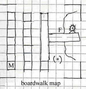 Frog Comics Area Hand Map