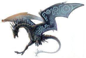 Twilight dragon by pearleden-d3jwje9
