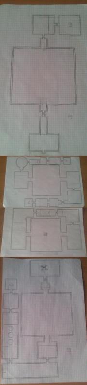 Mapa del Templo del Océano Zora