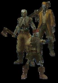 Piratas Esqueleto