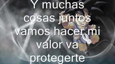 Dragon Ball GT Caprichosa eres tu con letra Completa Latino