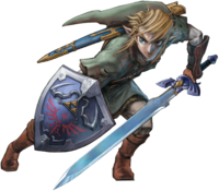 Link Artwork 4 (Twilight Princess)