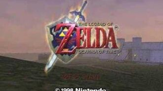 Ocarina of Time Song of Time