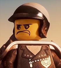 THE LEGO MOVIE 2! LEGO Bad Cop Mini Figure