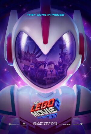 Lego movie two poster