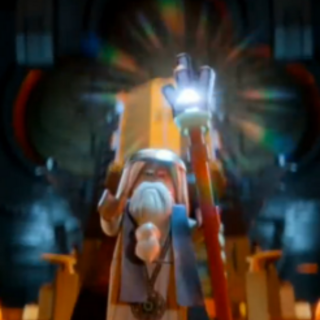 Young Vitruvius defending the Kragle.