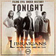 The Librarians premiere night poster
