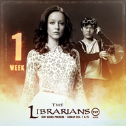 The Librarians one week poster