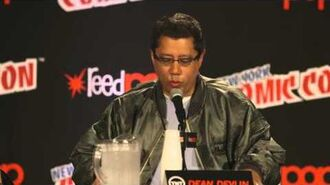 NYCC Dean Devlin - Hardcore Geeks The Librarians TNT