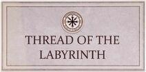 Thread of the Labyrinth Card